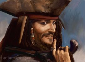 Jack Sparrow by mayshing
