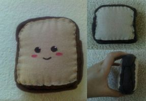 toast plush by whatonearth