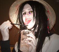 Orochimaru - Coffee Shop by iPipster