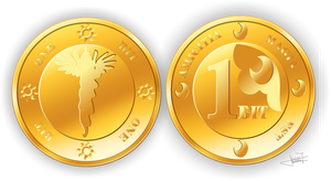 Equestrian coins by moonlightneo