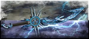 Elemental Blade: Lightning by Unkn0wnfear
