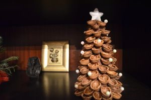 Christmas tree with nuts by LarkinRowen