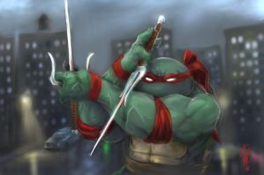 Raphael playing - V.No Rain by thedarkcloak