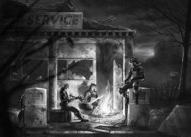 Service Station by FedericoMusetti
