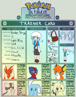 Pokemon Trainer Card by AmyFawkes