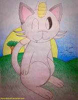 Emily the Meowth by ThyWordIsTruth
