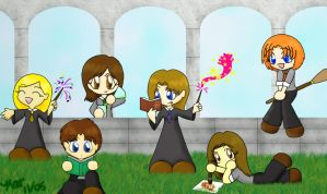 Eff This I'm going to Hogwarts by Ariniel