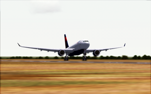 Rotation: Delta A330 by BigBoeing