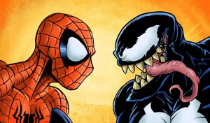 Spider-man vs Venom by edcomics