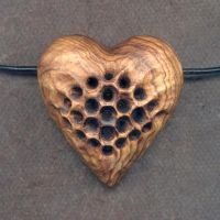 Honeycomb Heart Rattle by DonSimpson