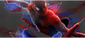 Spiderman Vector Sig by Killou-Xx