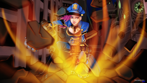 Officer Vi - The Piltover Enforcer by Jmsampaio