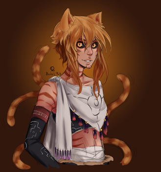 The cat by BanalRas