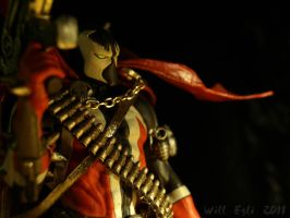 Spawn armed with Guns - BANG by SurfTiki