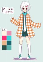 [OC] Masu Reference by Kururu245