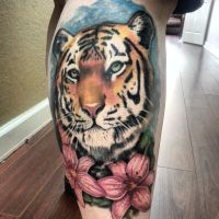 Tiger tattoo by Studio617