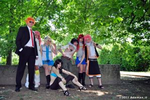 fairy tail cosplay by AleDiri