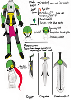 Blade Knight Concepts by nozomi-sama