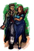 Celeste and Auberon Commission by TheAmericanDream