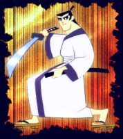 strange pic Samurai Jack by lince