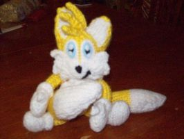 Baby Tails plushie :For Sale: by TwilightFoxx
