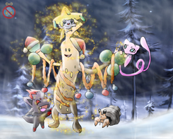 CE: Pokemon Christmas by shadowhatesomochao