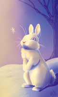 The Rabbit and The Snowflake by The-Hare