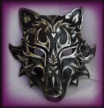 Wolf Mask- Black Version by Namingway