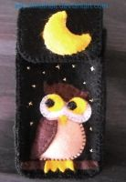 Owl Phone Case by Mathelt