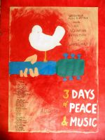 Woodstock Poster by MoonyG