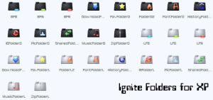 Ignite Folders by cavemanmac