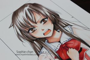 Lia - Copic tutorial