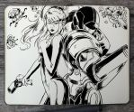 #317 Metroid by 365-DaysOfDoodles