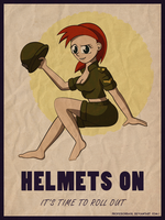 Helmets On by ProfessorBasil