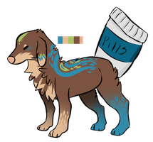Pill Pup auction 2 closed by Girryy