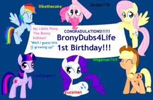 BD4L One Year Anniversary!! by annasabi101
