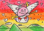 Cupid Kirby by NiagraFalls