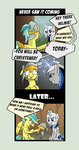 Commission - Comic - Never Saw it Coming by Helmie-D