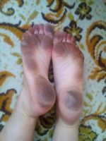 Real barefooter soles 1 by barefootersk