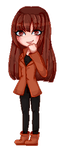 Pagedoll pixel Commission for horrorlandcop74 by AruOwlsArts