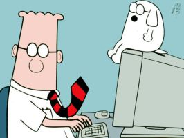 Dilbert And Dogbert by FutureTechnology