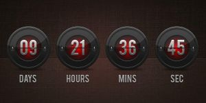 Flip Clock Countdown (PSD) by softarea