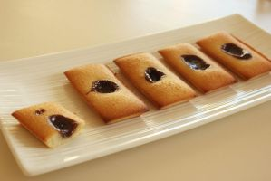 Carambar Financiers by Rea-the-squirrel