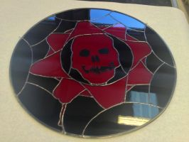 Gears of War in Stained Glass by Wezzleey
