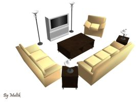 MMD Accessory Furniture by innaaleksui