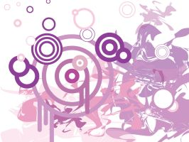 purple pink target vector by antoshea