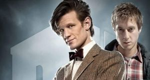 Doctor Who S6WP - 11 and Rory by drawingdream