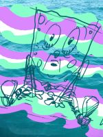 Seasick SpongeBob by shermcohen