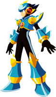 Vector - Wind Soul Mega Man by TaerkEX