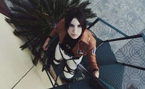Ymir Cosplay #2 - A woman that doesn't need a man by YamiMana